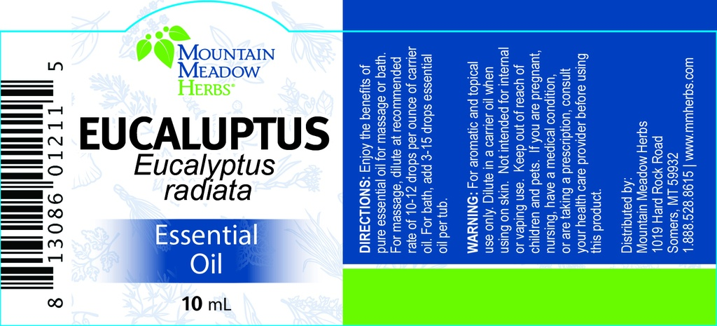 Eucalyptus Essential Oil (10 mL.)
