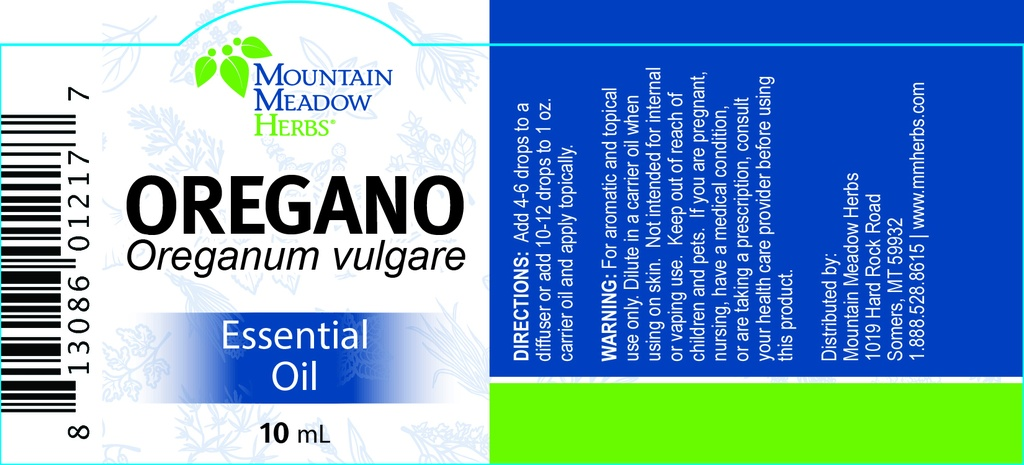 Oregano Essential Oil (10 mL.)